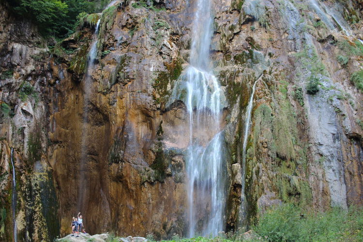 Croatia Djmarcop Trip Day No People Water Beauty In Nature Travel Destinations Scenics Tranquility Moss Rock Formation Outdoors Forest Motion Rock Face Tree Waterfall Rock - Object Nature