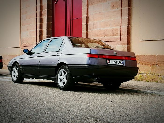 Dream of Italy Alfa Romeo 164 Car Sports Car No People Luxury Outdoors Day Old-fashioned