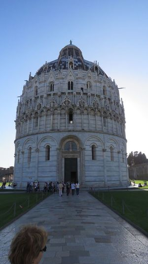 Architecture Church Inside Leaning Tower Of Pisa Outside Pisa Tower Renessaince Tuscany Italy