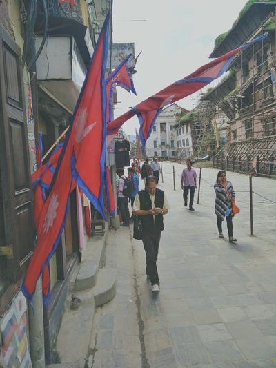 The busy street Basantapur Durbar Square EarthquakeShoot NepalNow Candid Randomnesia_ Basantapur Nepalipeople😊 Vintage
