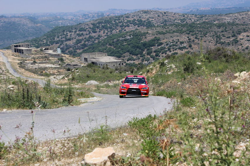 4x4 Beauty In Nature Day Jezzine Land Vehicle Lebanon Mode Of Transport Mountain Nature No People Outdoors Race Racecar Racing Racing Car Road Speed Transportation Tree Wrc