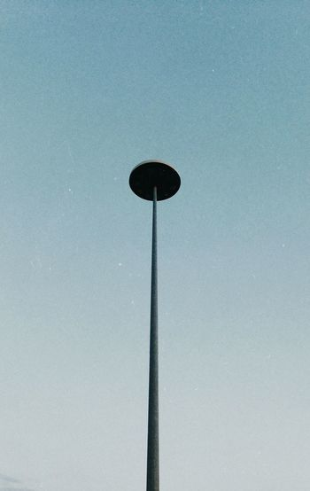 lamp Lamp Low Angle View Sky Nature No People Day Outdoors Street Light Blue Clear Sky Winter