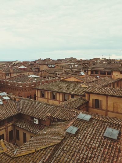 A Bird's Eye View Siena, Italy Roof Architecture City Rooftop TOWNSCAPE