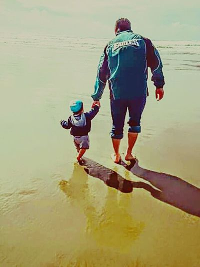 Hand In Hand Daddies Lil Boy Oregon Coast At The Beach Hanging Out Taking Photos Check This Out Relaxing Enjoying Life Playing Imagine Beautiful ♥ 1yearago Timeflies Off They Go Tyler Torn The OO Mission 43GoldenMoments People Together