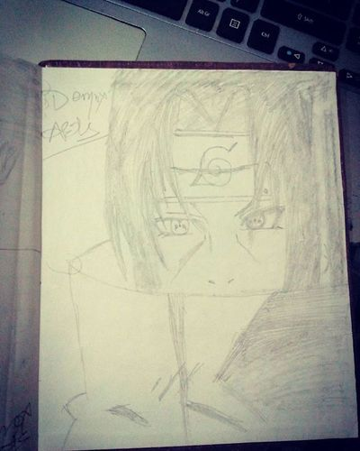 Sketching Time .... Demox Arts ... 😁 Itachi Uchiha .... ^/ \^