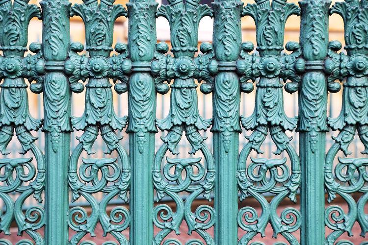 Full frame of metal gate
