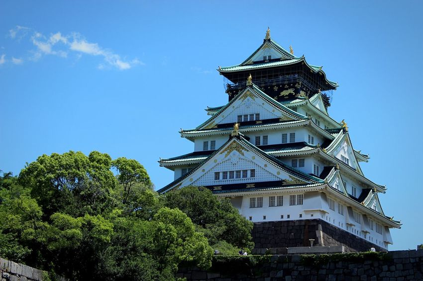 大坂城‼️ Oosaka  Holiday Castle