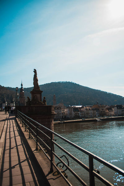 Heidelberg Holiday Love Moments Nature Architecture Beauty In Nature Building Exterior Built Structure Day Human Representation Mountain Nature No People Outdoors Scenics Sculpture Sky Statue Travel Destinations Tree Water