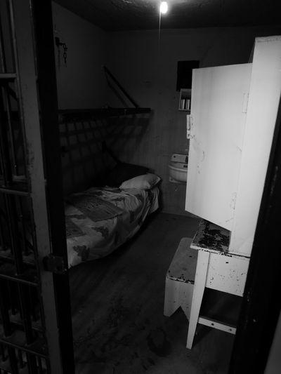 In Prison Jail Old Montana Prison Behind Bars Confinement Jailhouse Pokey Prison Prison Cell