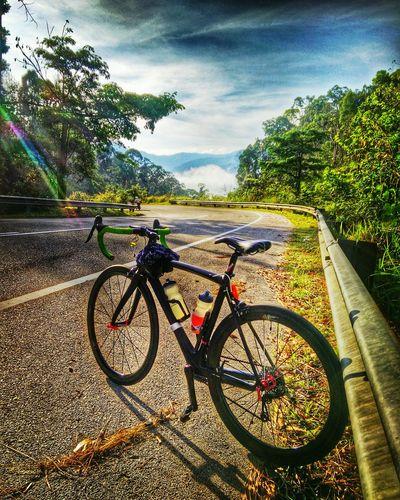 Cyclinglife Ululanggat Mountain View Malaysia Outdoor Photography