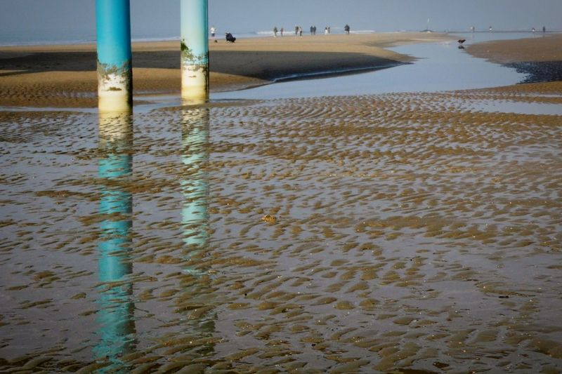 Reflections Light And Shadow Travel Colors Sea Sandy Beach Sand