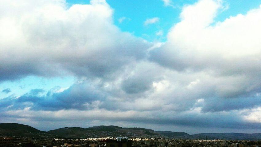 Cloud - Sky Blue Nature Storm Cloud Rain My Favorite Color Beauty In Nature Tumblr First Eyeem Photo Jordan Autumn Rain
