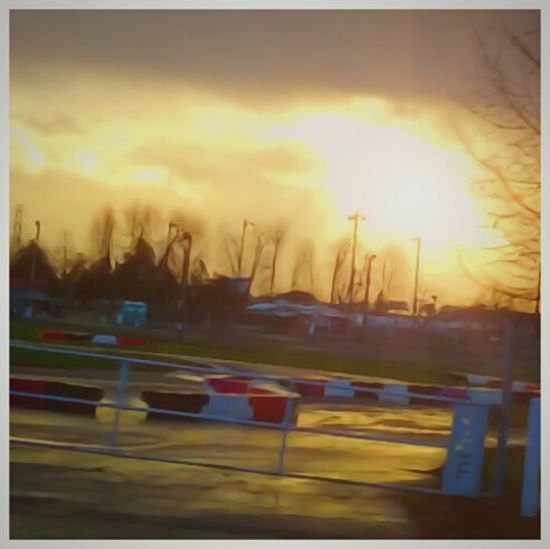 Go Cart Track Racetrack Outdoors Sunrise_Collection Bright And Beautiful Point And Shoot Camera Love Of Photography Art Arts Culture And Entertainment EyeEm Masterclass Tadah!! Getty Images Cell Phone Photography Getty Pretty Artistic Photography Wahlah Tadaa Community My View Pacific Northwest  EyeEm Gallery Amateur Photography Streamzoofamily Scenics Lens Flare Shiny Street Snapshot The City Light