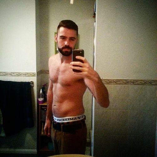 Beardedgay Beardedguy Beard Gay gayuk muscle gayswithink selfie Nurse