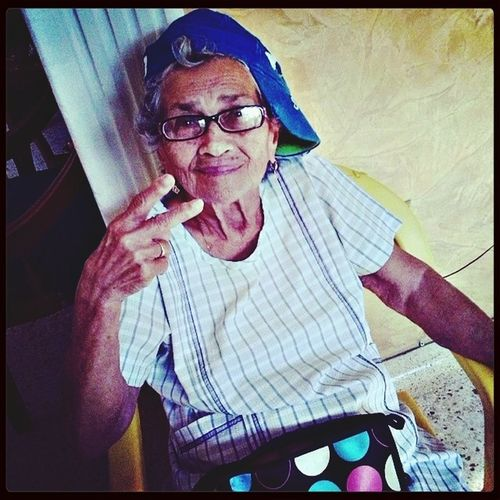 Who's the coolest?, I am!!! Grandma! Taking Photos FAMILY <3 Rapergrandma