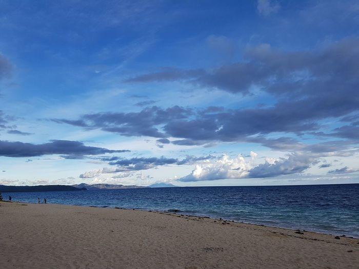 Philippines Beach Saranggani Nofilter Sunset Sky Clouds Paradise