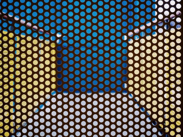 Pattern Spotted Futuristic Backgrounds Abstract Full Frame Multi Colored Close-up Technology Geometry Detail Minimalist Architecture Urban Geometry at Basel, Switzerland The Architect - 2017 EyeEm Awards