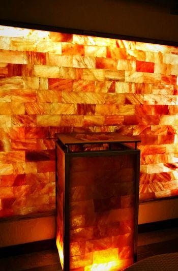 No People Indoors  Day Spa Relax Relaxing Salt Light Hot Chaude Light Sleeping Sleep Sauna Sauna Time