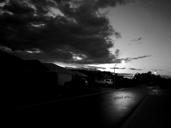 Through Darkness Comes Light, Through Light Comes Darkness. Sky Night Cloud - Sky Dramatic Sky Nature Outdoors Clouds Blackandwhite EyeEmNewHere Quote💕