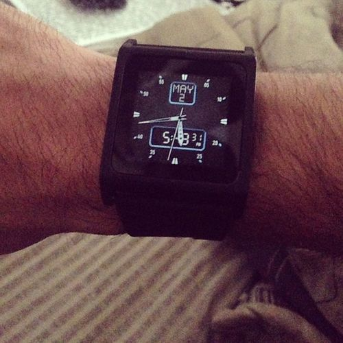 Is it a watch? Or is it an iPod nano? Youllneverknow Jkijusttoldyou IBobnano