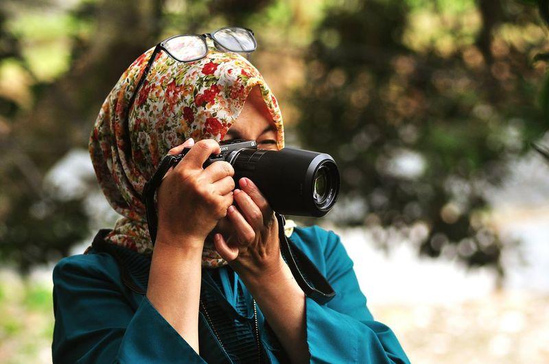 Women Photographers Camera Justshoot