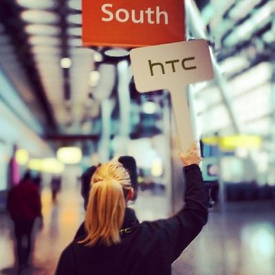 And on the way to the venue. #HTC #HTCOneUp #HTCinLON HTC Htcinlon Htconeup