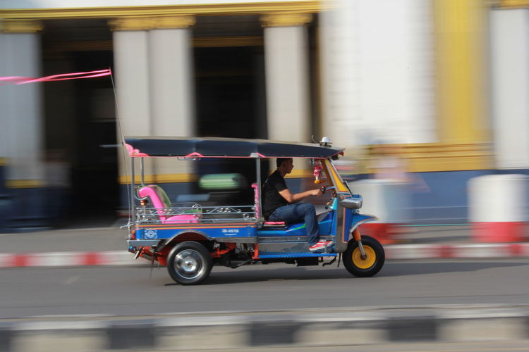 Speed Panning Speedway TukTuk Blurred Motion City Land Vehicle Motion on the move Outdoors Real People Speed Speed Tuktuk Street Thailandtravel Transportation Tuktuk Thailand Tuktuk Ride Tuktukdriver
