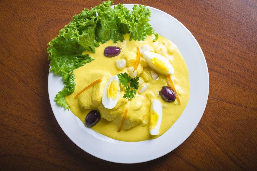 Papa a la Huancaina Peruvian Food Ready To Eat Food Fusion Food Papa A La Huancaina Peruvian Culture Plate Potatoes Ready-to-eat Traditional Food