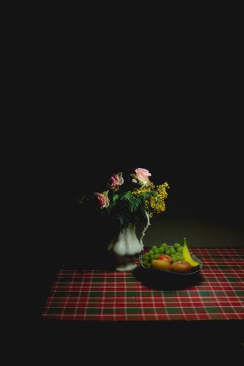 Flower Studio Shot Black Background Freshness No People Bouquet Flower Head Still Life