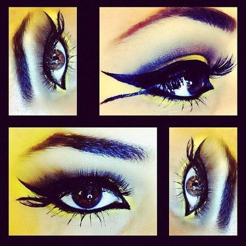 Photo Colloge Makeup Fantastic women eye eyes colorful instasize insta