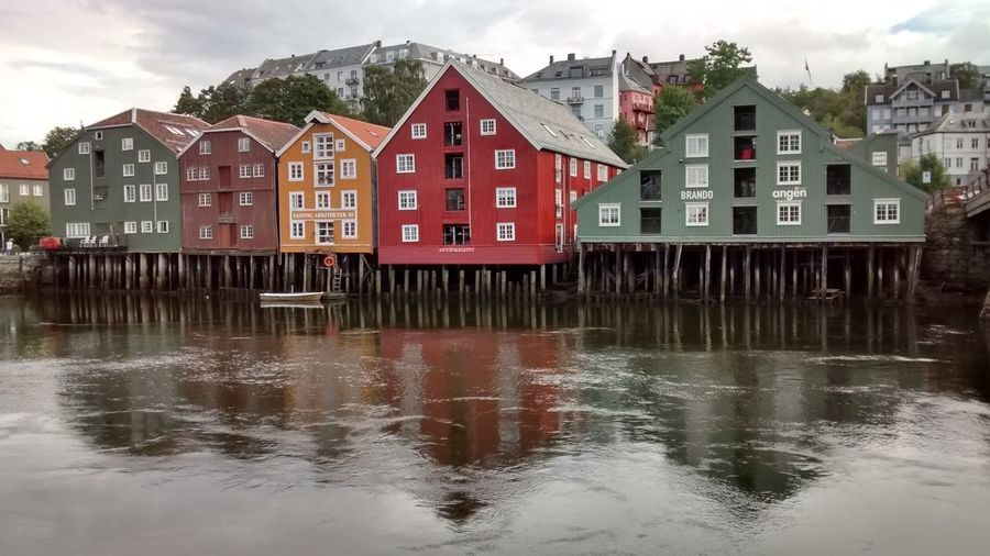 Trondheim, Norway (august 2014). Trondheim Norway Colours Nuovi Colori!