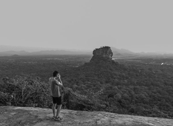 Pidurangala Rock Nature Sri Lanka Beauty In Nature Copy Space Day Environment Full Length Land Landscape Leisure Activity Lifestyles Looking At View Mountain Nature Non-urban Scene One Person Outdoors Pidurangala Real People Rear View Scenics - Nature Sigiriya Sky Standing Women