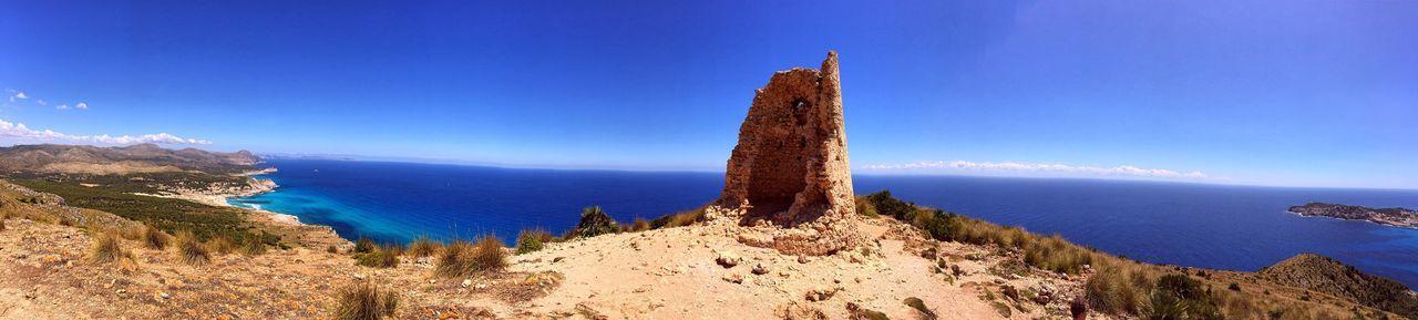 Telegraph Mallorca Panorama Holiday 180° SPAIN Baleares Cala Agulla Cala Mesquida Es Télegrafo Cala Ratjada Cala Rajada Capdepera