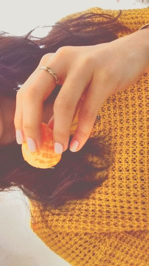 Mandarina Nails Delicadeza👑 Sunny Day Sunny Afternoon Sweter Girl Smile