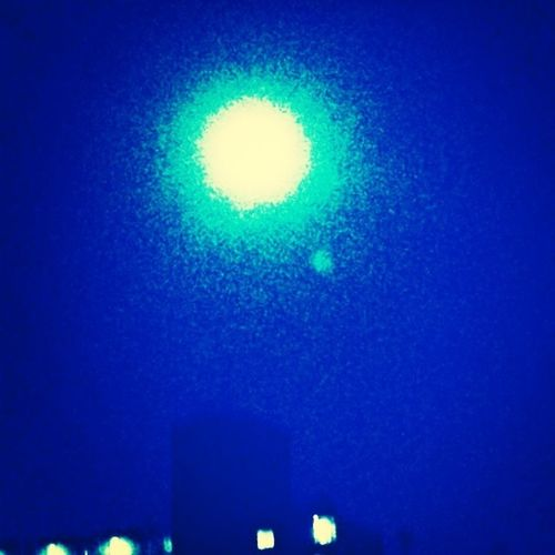 Lion Moon Supermoon 2013 Moonlight Fullmoon