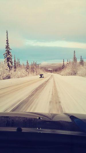 зима❄️ Winter север трасса зимой First Eyeem Photo