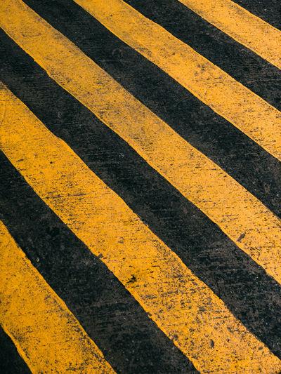 Full frame shot of zebra crossing