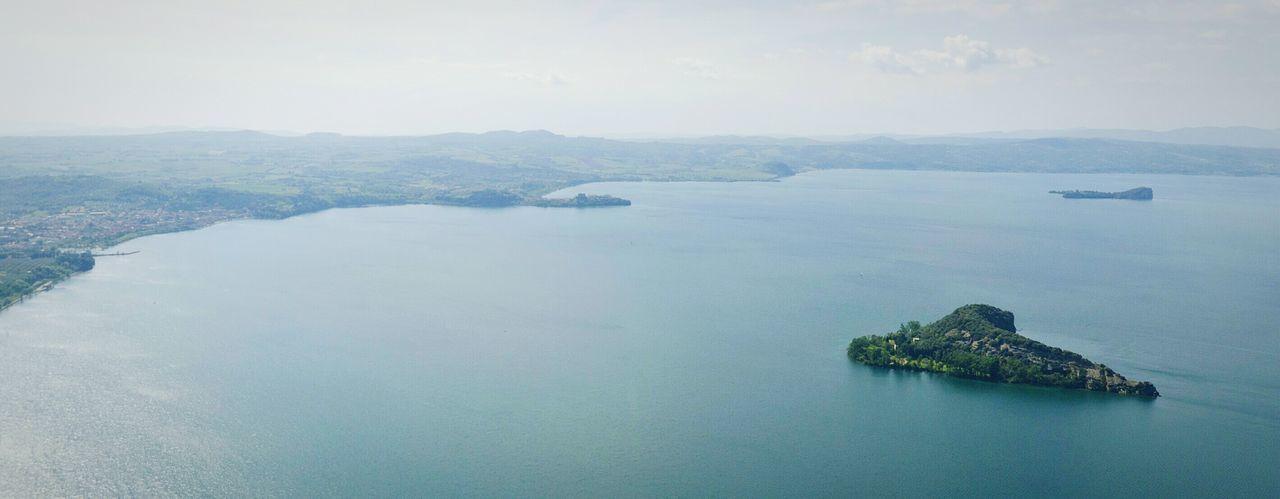 Lago Di Bolsena Martana Bisentina Capodimonte Flight Air