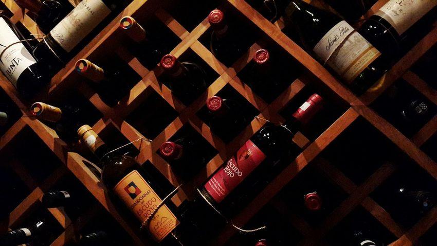 Beautifully Organized Bottle Wine Cellar Wine Wine Bottles Winelover Wine Bottle Wine Bar Indoors  No People
