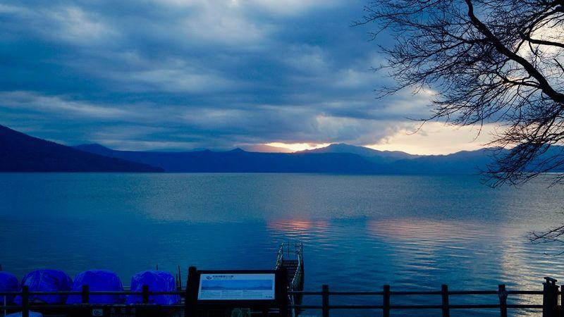 Shikotsu Toya National Park Chitose Japan Clouds And Sky Shikotsu Lake Nature_ Collection  Sunset_collection Autumn Colection Traveling Photography Landscape_photography