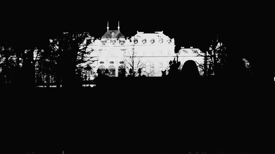 Vienna Vienna Wien Night Blackandwhite