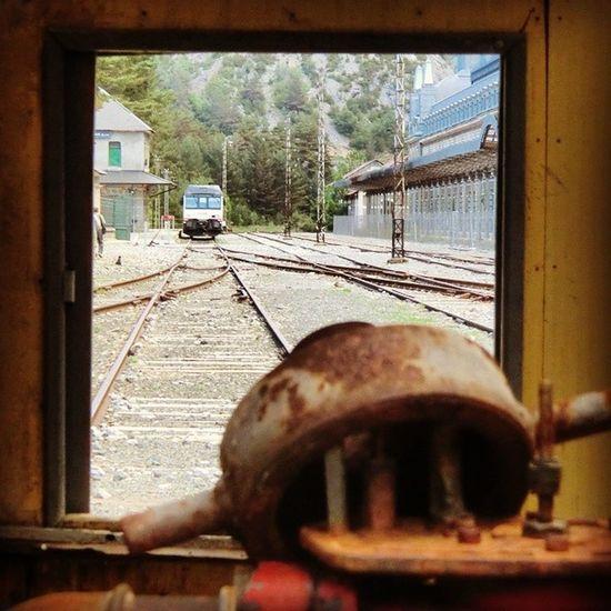 Vistas. Canfranc Huesca Pirineos Travel train igershuesca igersaragon igerszgz