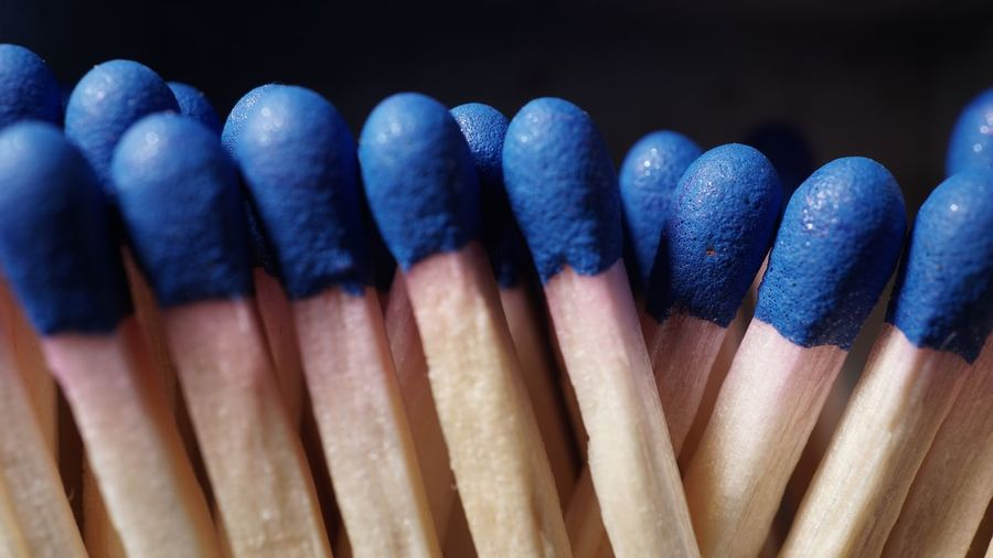Close-up of matchstick