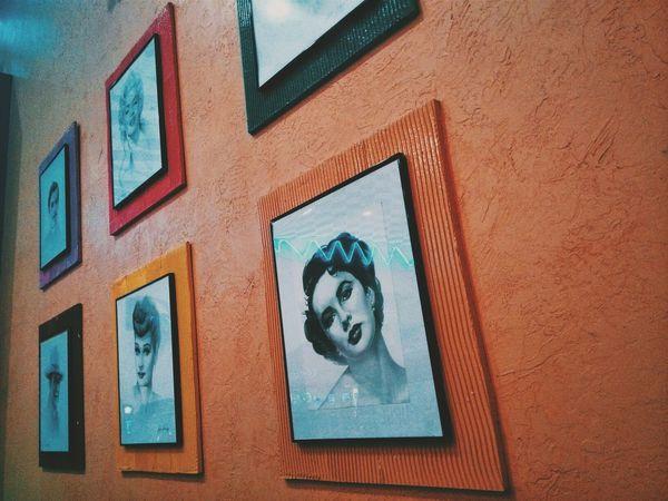 Frames Celebrities Portraits Vscocam