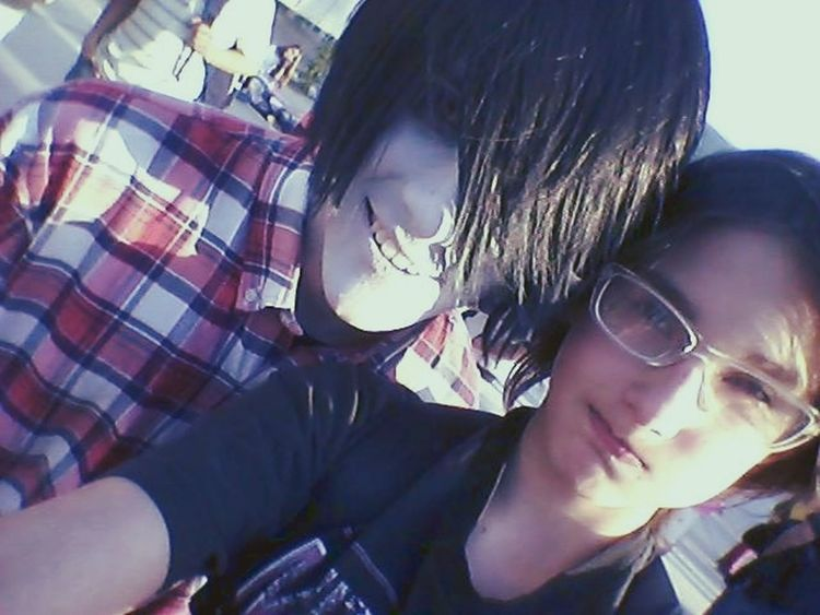 Selfie with another human! Marshall Lee Adventure Time Cosplay Selfie