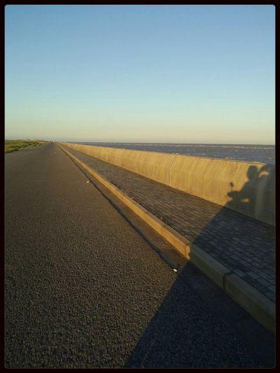 To the East China sea levee always make people feel fresh.