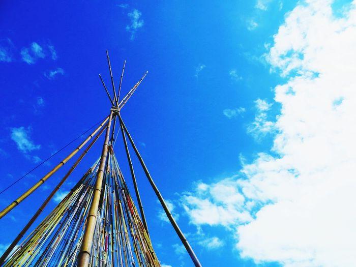 THELABYRINTH 2015  Blue Sky Déco Tipi