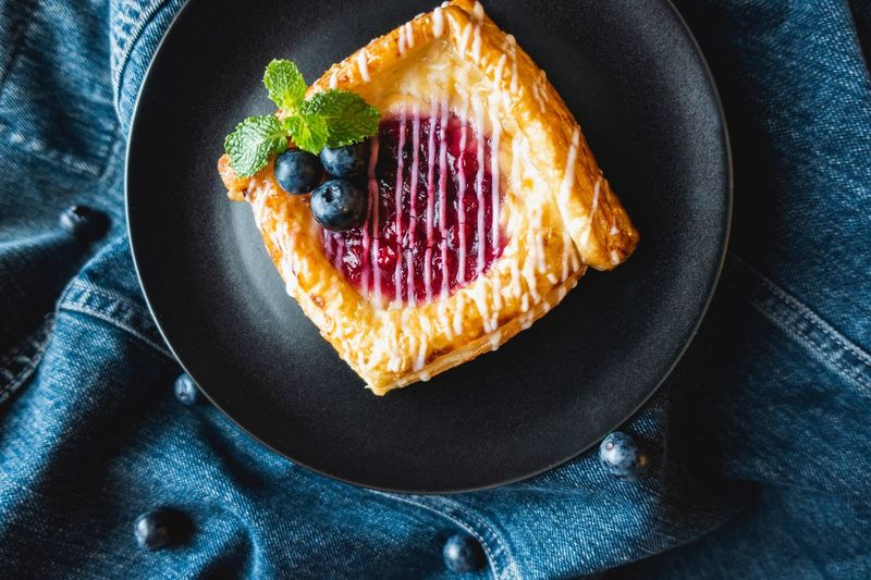 Blueberry Food Food And Drink Sweet Food Ready-to-eat Sweet Freshness Dessert Baked Fruit Berry Fruit