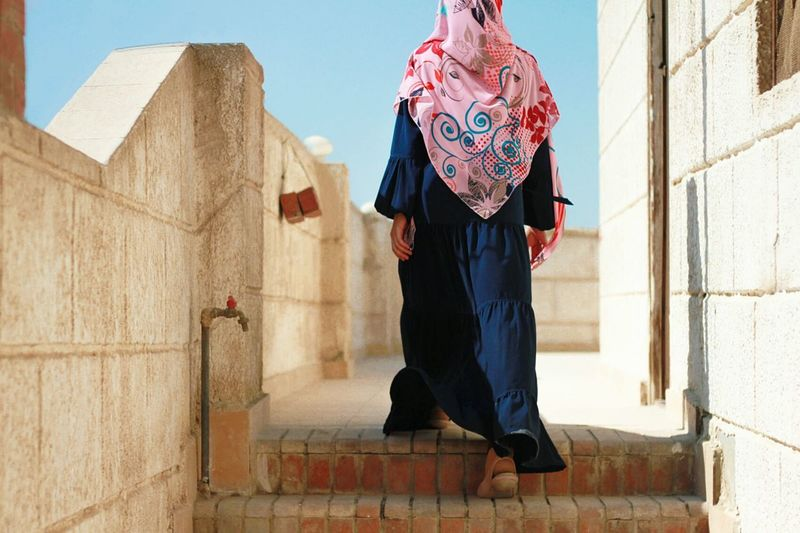 Walking Around Eidfitri Muslimah Muslim Cairo Egypt Dress Beautiful Beautiful Girl Beautiful Day