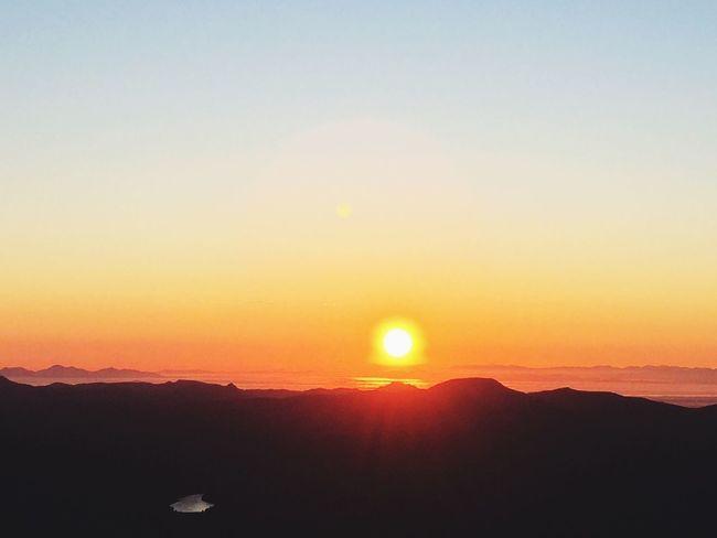 羊蹄山へ御来光登山^_^ Morning Nature Good Times Goodmorning Climbing A Mountain Mountain Landscape